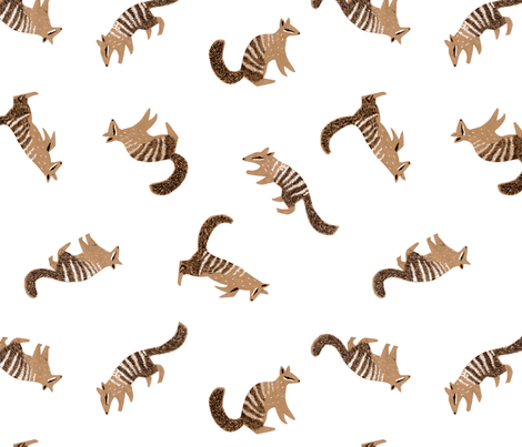 Numbats fabric by janetdrummond on Spoonflower - custom fabric