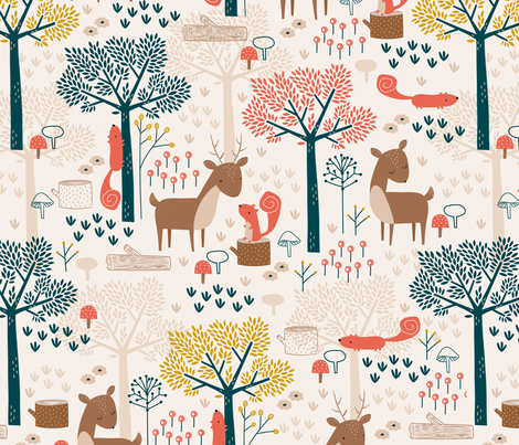 Maryon Park fabric by sarah_knight on Spoonflower - custom fabric