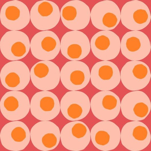 Colourful Abstract Retro Spots