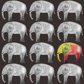 Be a Rainbow Elephant