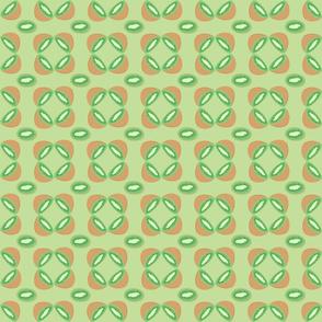 Kiwi Fruit in Mint Green