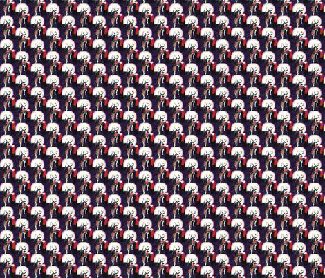 Nightmare Before Christmas fabric by geekartbyzentner on Spoonflower - custom fabric
