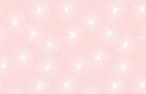 Dandelions M+M Icing by Friztin fabric by friztin on Spoonflower - custom fabric