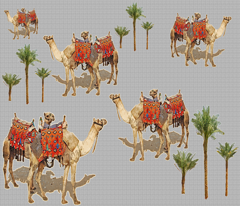 Tamed, but Still Wild fabric by zsmama on Spoonflower - custom fabric