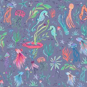 ocean animals lilas