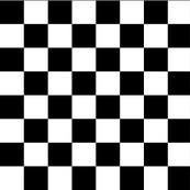 "checkerboard black and white 1"" - inspired by..."