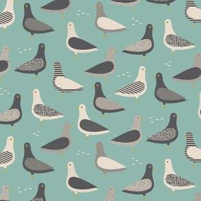 Pigeons - Lake