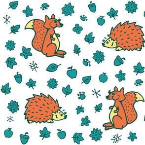 hedgehod_squirrel