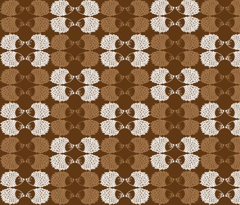 hedgehogs fabric by saflo_creations on Spoonflower - custom fabric