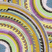 needlepoint circles lavender