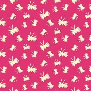 Moths on Pink