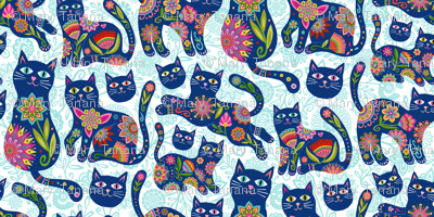 KitCats in Blue