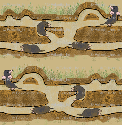 Moles are Down to Earth