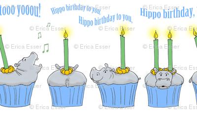 hippo birthday to you!