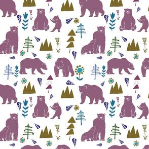 bear and baby bear rose