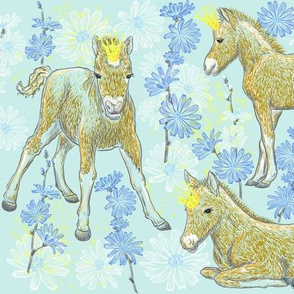 The Foal Royalty (mint)