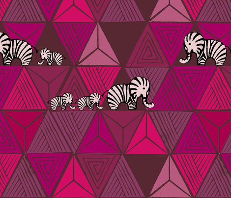 be like a zelephant fabric by schnittenliebe on Spoonflower - custom fabric