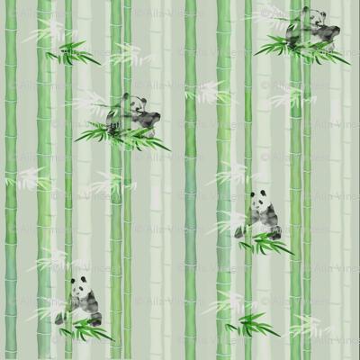 Pandas On Bamboo