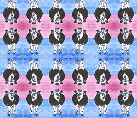 Moo! fabric by valerie_d'ortona on Spoonflower - custom fabric