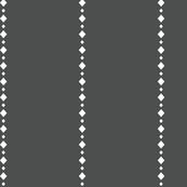 White diamond lines and dark grey background