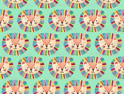 Happy Little Lion by Gabrielle Cave