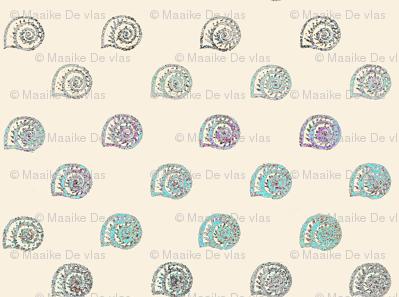 Snail shell dots