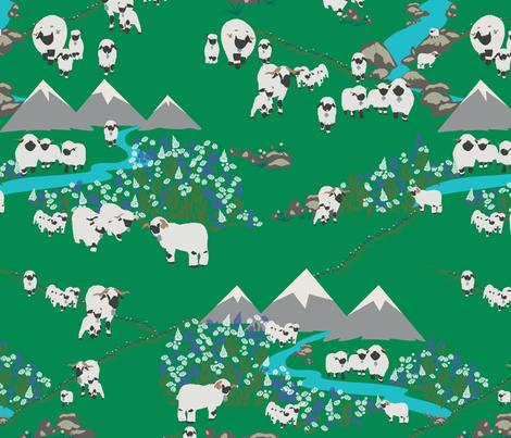 Valais beauty fabric by geetanjali on Spoonflower - custom fabric