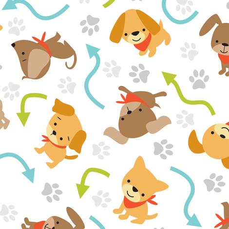 Animals By Land fabric by malibu_creative on Spoonflower - custom fabric
