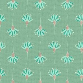 Dandelions - Turquoise