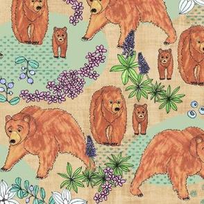A Bear in his habitat, XL