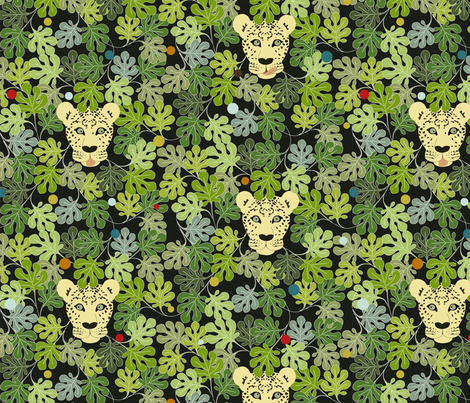 Leo-Party fabric by lilyfurs on Spoonflower - custom fabric