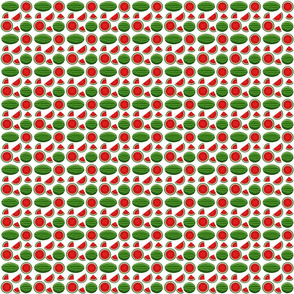watermelon white 2x2