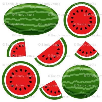 watermelon white 4x4