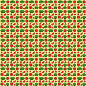 watermelon yellow 2x2