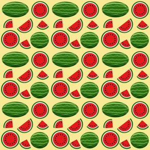 watermelon yellow 6x6
