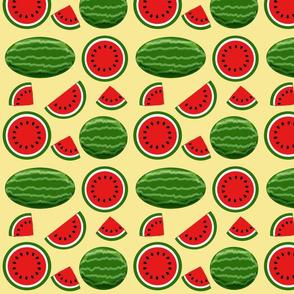 watermelon yellow 8x8