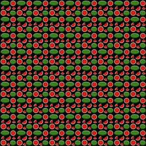 watermelon black 2x2