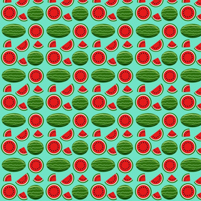 watermelon turquoise 4x4