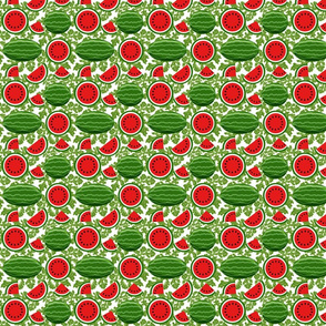 watermelon and vines 4x4