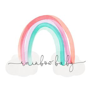 """42"""" rainbow baby blanket"""