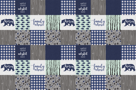 "3"" Custom Adoption fabric by mnutt1 on Spoonflower - custom fabric"