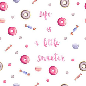 Life is sweet in pink