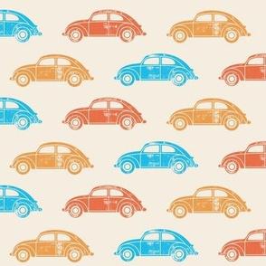 vintage cars - surfs up