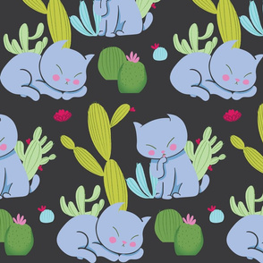 Desert Cat Pattern