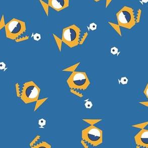Piranhas Hunting