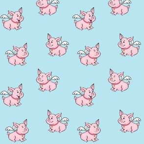 Flying Pet Pigs  small / when pigs fly