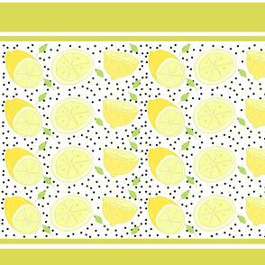 lemon poppy twist 19-  yellow stripes