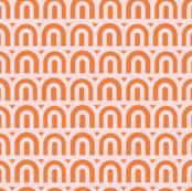 B/U : Pink & Orange