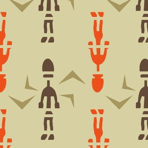 Polynesian Figures, Exotic Art, Oceania