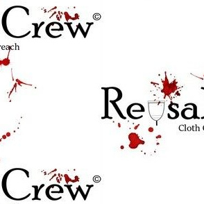 Reusable Crew logo-blood